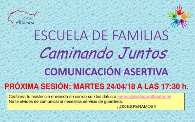 Escuela de Familias – Comunicación Asertiva